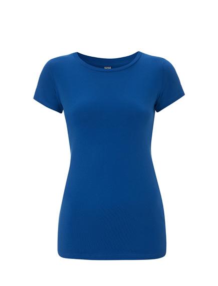 T-Shirt (Mädels*) kornblumenblau | S