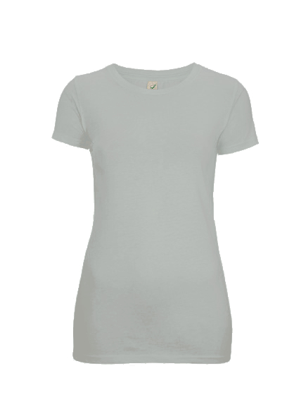 T-Shirt (Mädels*) - hellgrau