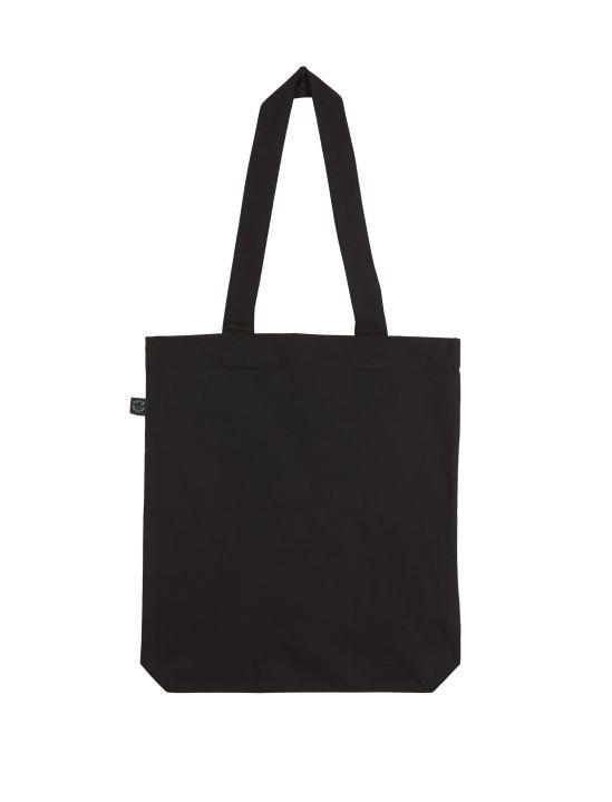 Bunte Tasche schwarz