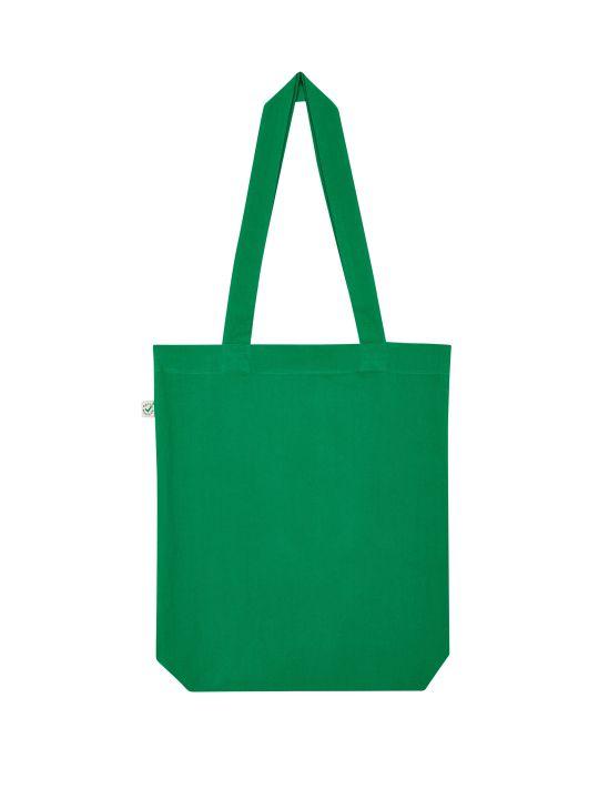 Bunte Tasche grasgrün