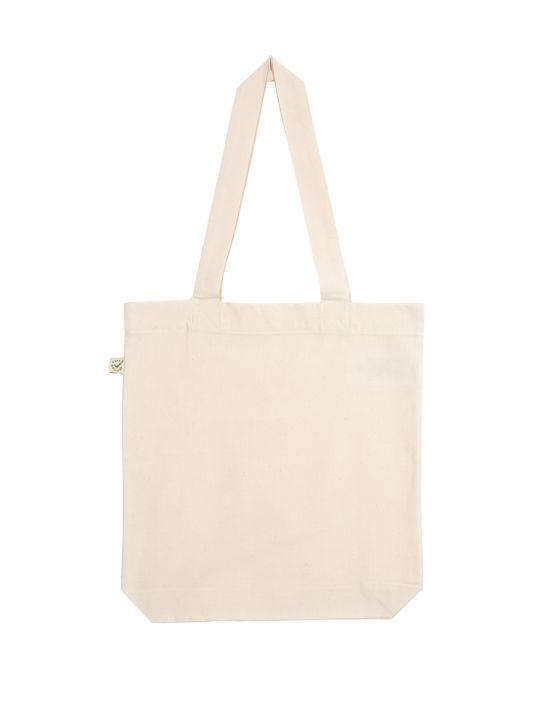 Bunte Tasche naturweiß