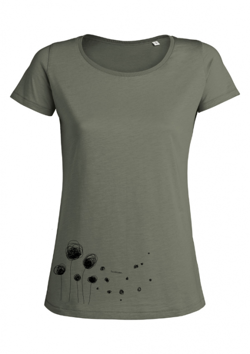 Fairblüht - Shirt (Mädels*) mid heather grey | XS