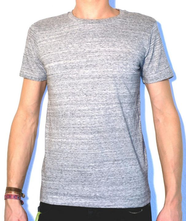 Shirt Leads slub heather grey | XS