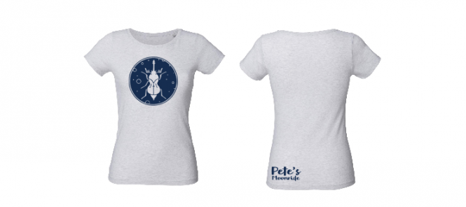Pete's Moonride heather ash - Shirt (Mädels*)