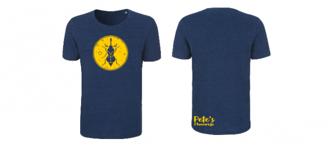 Pete's Moonride Indigo - Shirt (Jungs*)
