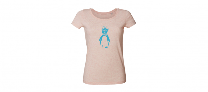 Piratenpinguin cream heather pink (Mädels*)